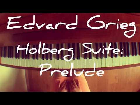 Edvard Grieg - Holberg Suite: Prelude   Nata Kartashёva (piano)