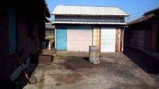 Japanese Farm House - Outside The Machinery Shed