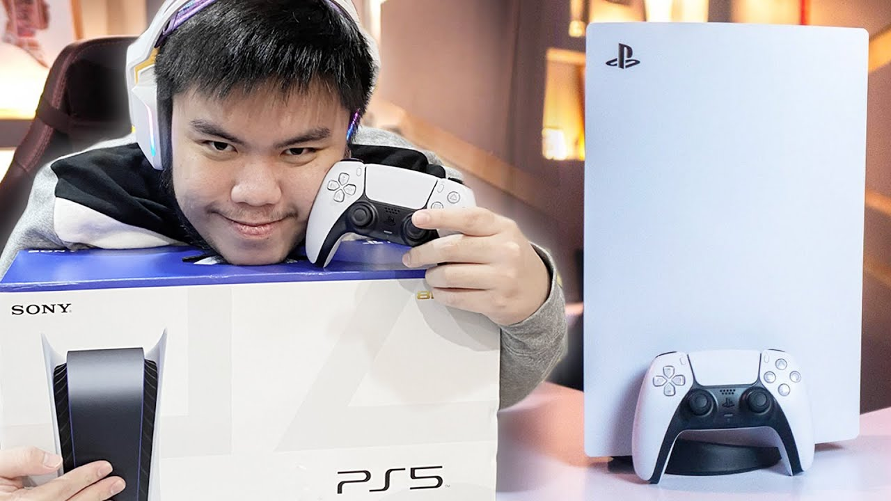 PROS UNBOXING PS5 INDONESIA HARGA SULTAN!