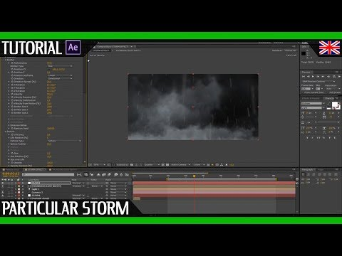 Digital Storm TUTORIAL with Trapcode Particular by AMK DIRECTOR