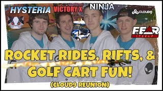 Hysteria | Fortnite Battle Royale  - Cloud9 Reunion with Ninja, Fearitself, and Victory X