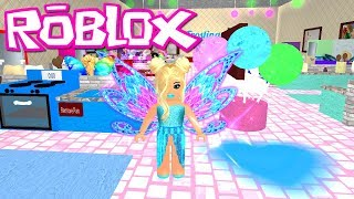 GIANT UPDATE! ~ Roblox: Fairies & Mermaids Winx High School ~ Ice Fairy And Baking Class!