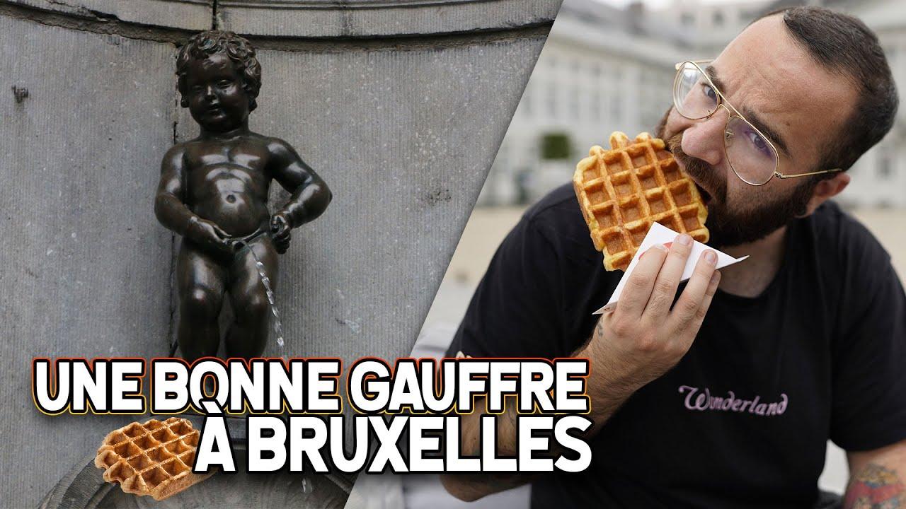 JE GOUTE ENFIN LE GAUFRE DE BELGIQUE