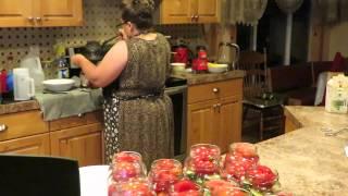 консервация ассорти...помидоры, огурцы
