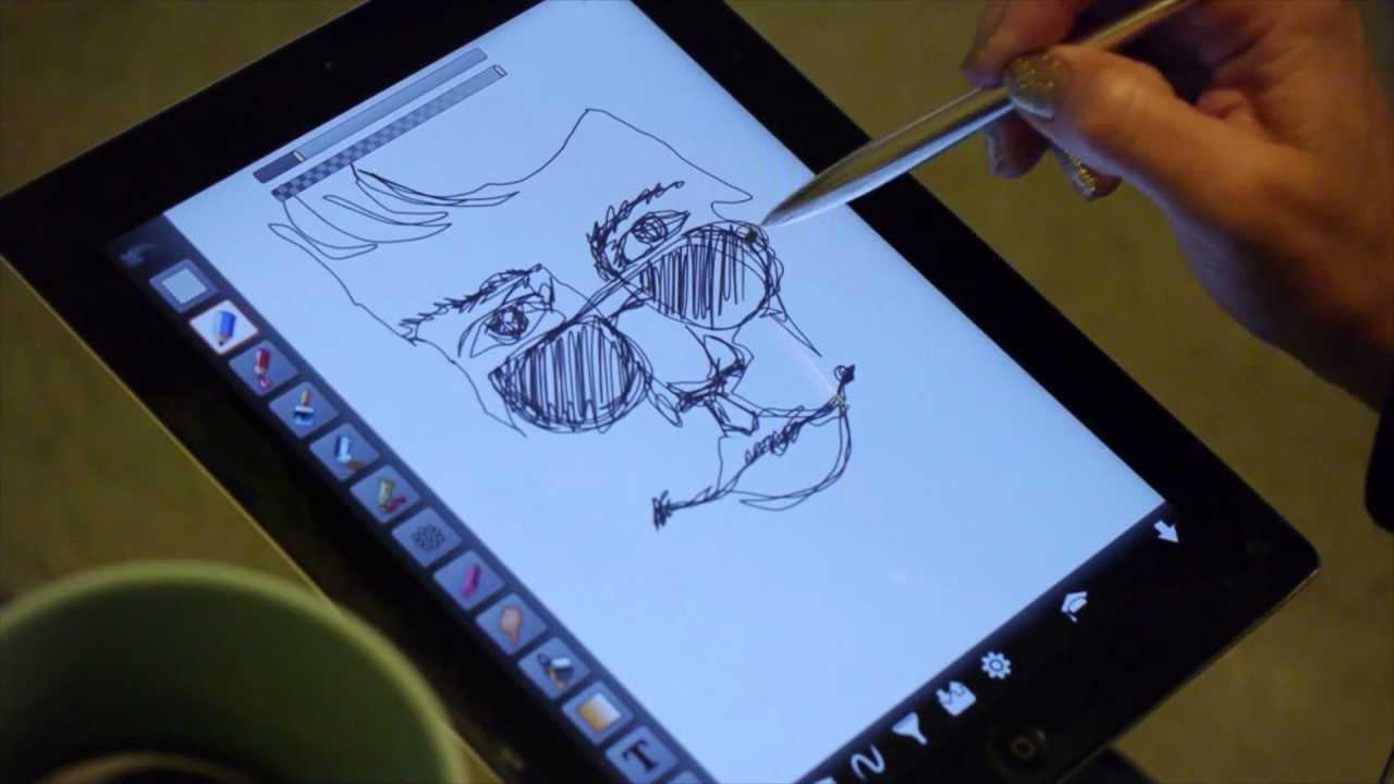 create on your tablet like pen on paper gosmart stylus youtube