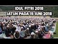 Breaking News, Idul Fitri 2018 Jatuh pada Jumat 15 Juni 2018