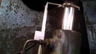 hydraulický valec,odmeriavanie polohy -lineárny  mag. snímač