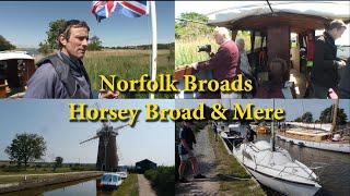 Norfolk Broads   Horsey Broad \u0026 Mere