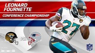 Leonard Fournette's Gritty AFC Championship Performance | Jaguars vs. Patriots | Player HLs
