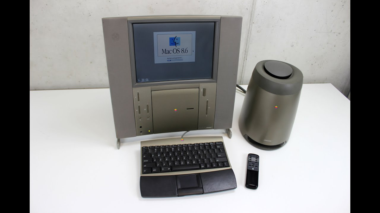 Bose Sound System >> 20th Anniversary Macintosh (TAM) - YouTube