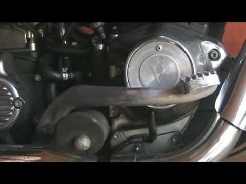 Motorcycle Rear Brake Pedal Adjustment
