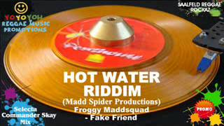 Hot Water Riddim Mix [March 2012] Madd Spider Productions