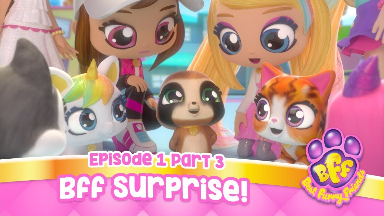 Best Furry Friends Episode 1 Part 3 Cartoons For Kids Youtube