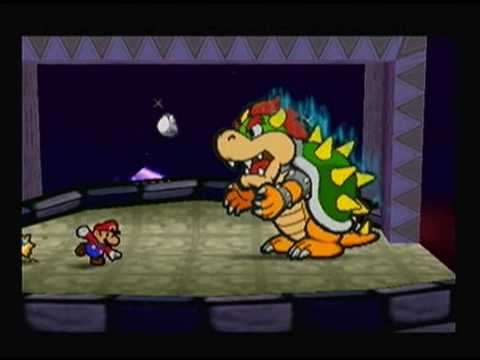 How Real Men Beat Bowser in Paper Mario