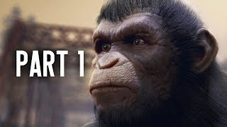 Planet of the Apes Last Frontier Gameplay Walkthrough - Prologue
