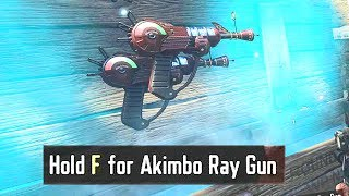 MW2 GUNS IN ZOMBIES CHRONICLES MOD! NEW RAY GUN DESIGN! Call of Duty Black Ops 3 Gameplay