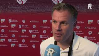 Jamie Carragher over Dirk Kuyt bij Liverpool: 'Goals, goals en stopt nooit met rennen'