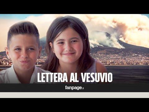 """Incendio Vesuvio, la lettera dei bambini al vulcano: """"Ti promettiamo che ti faremo tornare come prim"""