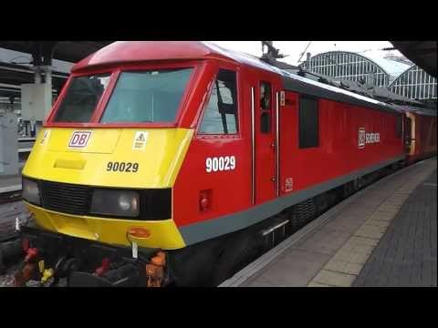 *RARE* An diverted Royal Mail Train at Newcastle 30/3/13