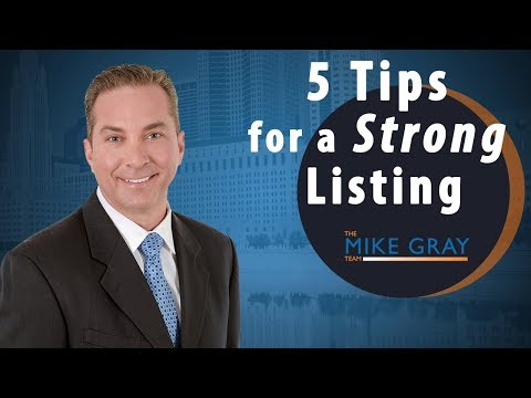 Houston Real Estate Agent: 5 Tips for a Strong Listing