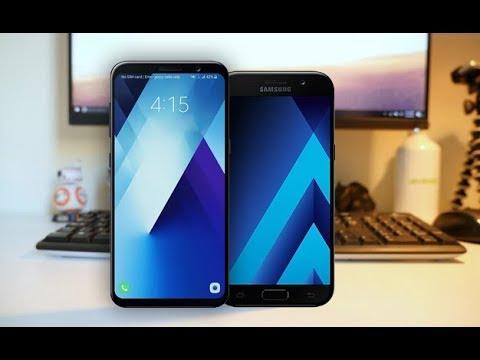 Samsung Galaxy A5 (2018) vs Galaxy A5 (2017) - Specs Comparison