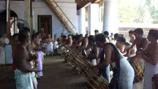 Panchari melam @ thiruvegappura temple