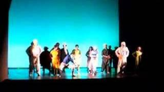 Bhangra Dance in Aladdin, LIVE at Bates!