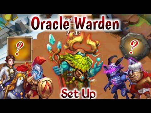 Oracle Warden Challenge | Rank-1😲😲😲 | Level 20/30 Boss | 1st Day Full Set Up | Castle Clash