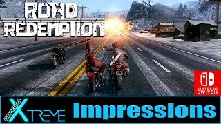 "Road Redemption - Switch Gameplay & Impressions: ""Road Rash Returns!"" 