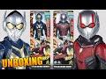 Antman y la Avispa Titan Hero Series Power FX Unboxing de Colección