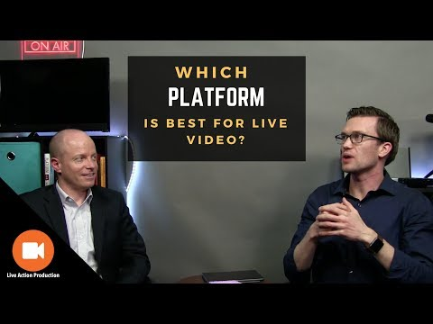 YouTube or Facebook... How to Determine Which Platform is Best for Your Live Video