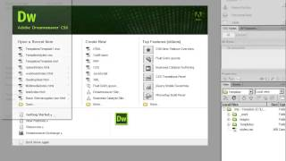 How to Create HTML5 Templates in Dreamweaver