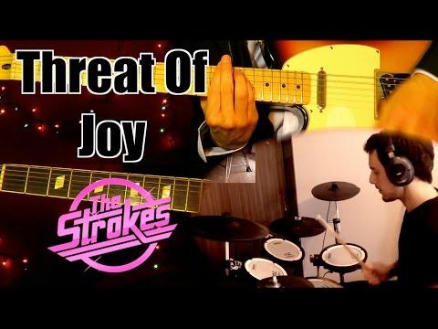 Threat Of Joy - The Strokes ( Guitar Tab Tutorial & Cover ) | Jorge Orellana & Juanjo Bascuñán