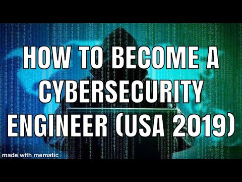 How To Become A Cyber Security Engineer In The USA (2019)