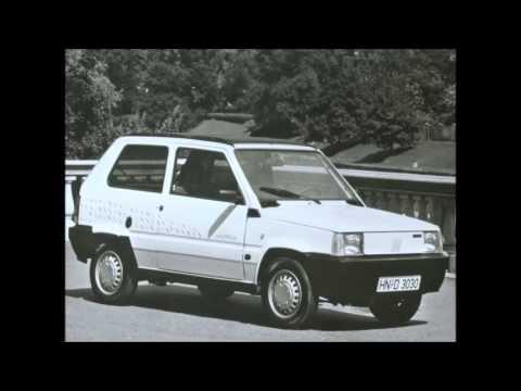 1990 Fiat Panda Elettra Youtube