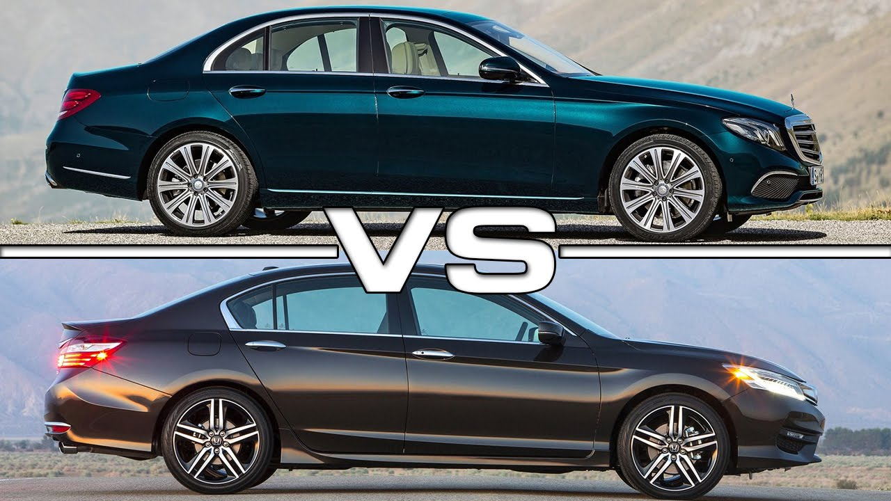 Mercedes Benz E-Class Vs Honda Accord Road Test