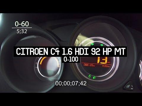 Citroen C4 2013 Model 1.6 HDI 88 Bin Km I 0-100
