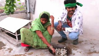 देखिये घर मे मछली बनाने के लिए हुआ हंगामा, मजेदार वीडियो। |MR Bhojpuriya