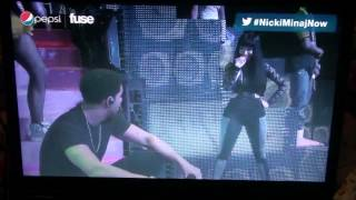 Nicki Minaj Brings Drake Out At Roseland Ballroom