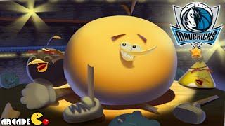 Angry Birds Seasons: NBA HAM Dunk Dallas Mavericks Vs Piggy Island Bullies Spalding
