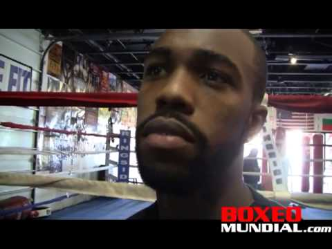 Interview with Gary Russell before his fight with Vyacheslav Gusev