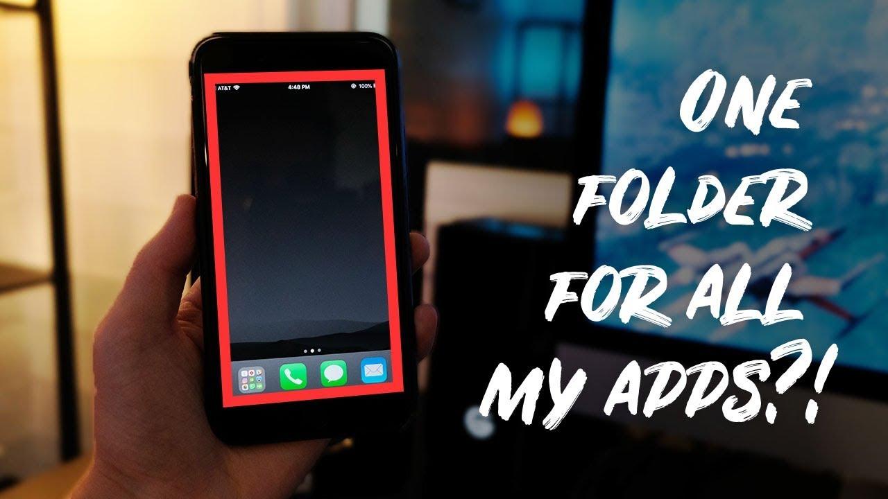 A Minimalist Iphone My Simple Homescreen Setup Youtube