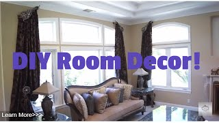 Diy Room Décor! Diy Room Decorating Ideas (diy Wall Décor, Drapes)  | Galaxy-design Video #99
