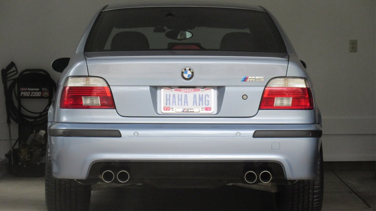 Bmw E39 M5 Rear Bumper Replacement Diy Youtube