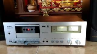 Vintage Yamaha TC-320 cassette Tape deck