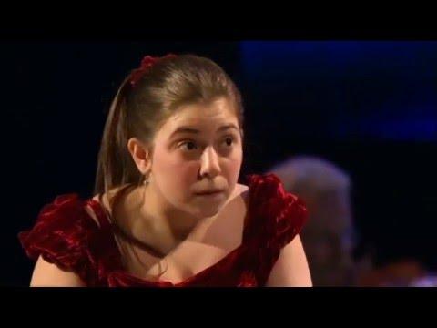 Lara Melda (Ömeroğlu) at 16 - Saint-Saëns Piano Concerto No. 2: BBC Young Musician of 2010