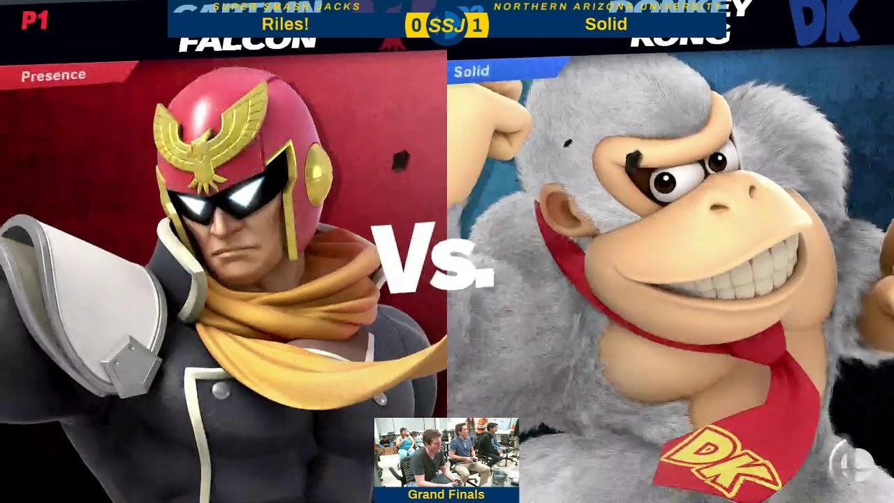 SSJ #77 - SSBU GF - Riles! [L] (Captain Falcon) vs Solid [W] (King K. Rool, Incineroar, DK)