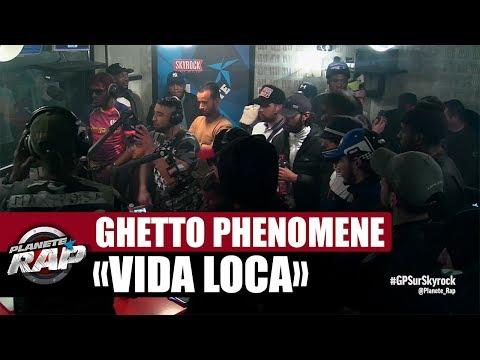 Youtube: Ghetto Phénomène«Vida Loca» en live #PlanèteRap