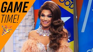 'RuPaul's Drag Race': Valentina Plays 'Snatch That Weave'! | Access Hollywood