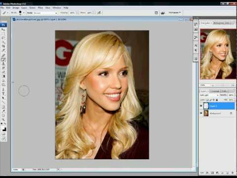 Haare farben mit photoshop elements